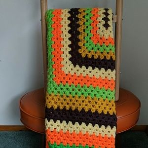 Large Granny Square Afghan
